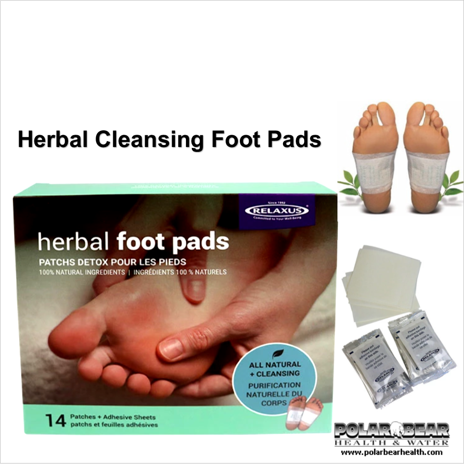 Herbal Cleanse Foot Pads Polar Bear Health Water Edmonton Alberta