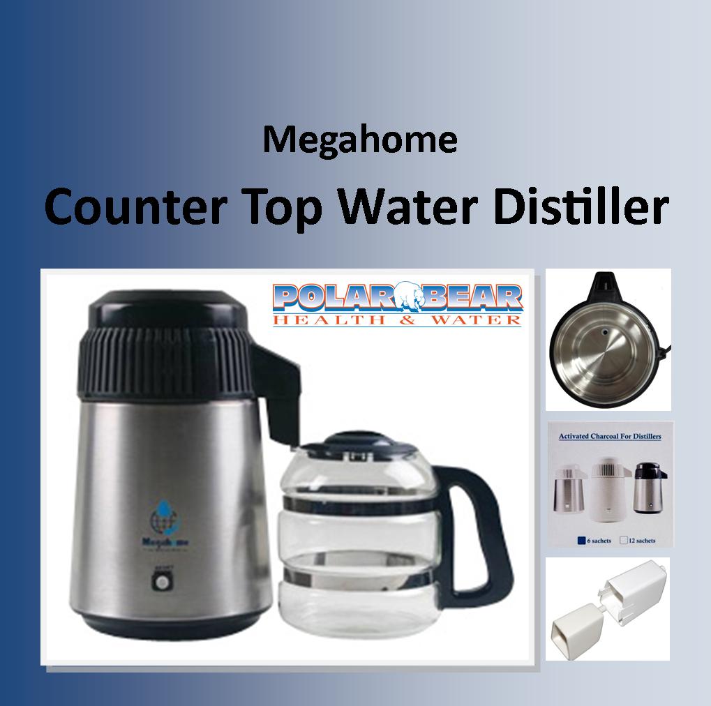 Water Distiller Manual ~ Megahome water distiller polar bear health