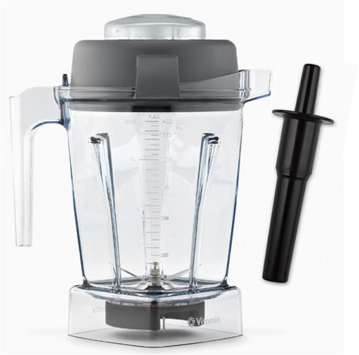 Vitamix 48 oz container with Lid and Tamper