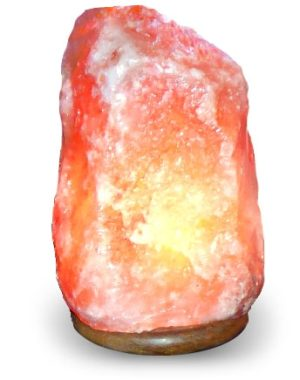 medium himalayan salt lamp