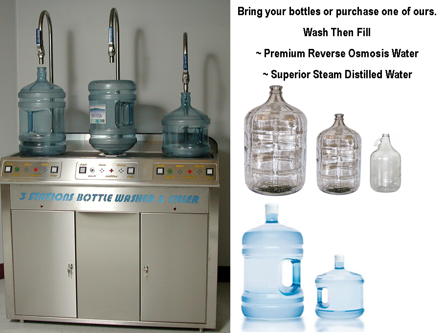 Water - Bottle Refills Self Serve