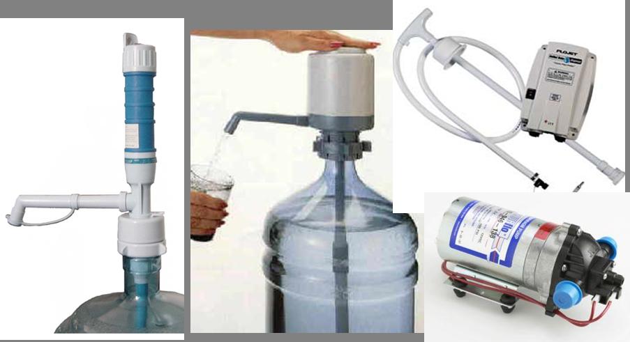 Pumps - Water & Bottle
