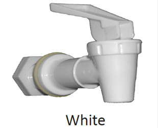 Faucet white