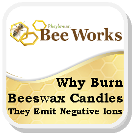 Why Burn Bees Wa xCandles For Neg Ions