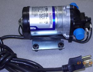 shurflo Pump 3 prong cord