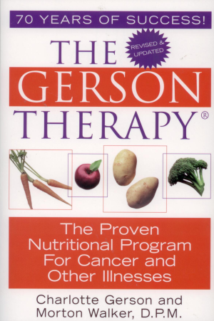 Book - Gerson Therapy