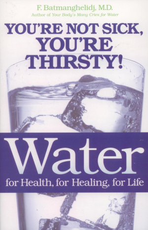 Book - Batmanghelidj Water For Health, Healing, Life