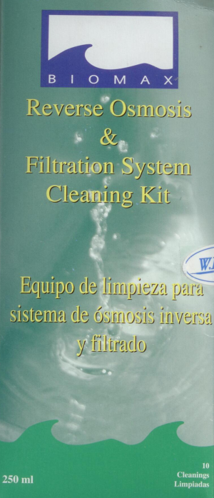 BioMax - Reverse Osmosis & Filtration System Cleaning Kit