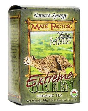 Mate Factor - Extreme Green Organic Tea - 20 bags