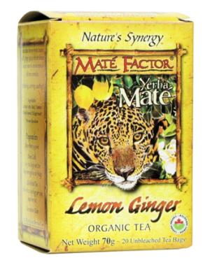 Mate Factor - Lemon Ginger Tea - 20 bags