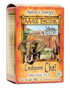 Mate Factor - Cardamom Chaii Tea - 20 bags