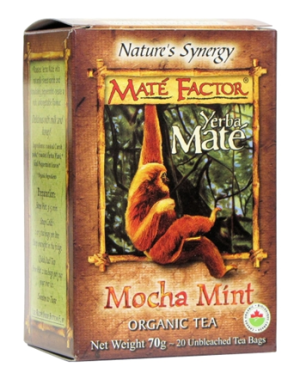 Mate Factor - Mocha Mint Tea - 20 bags