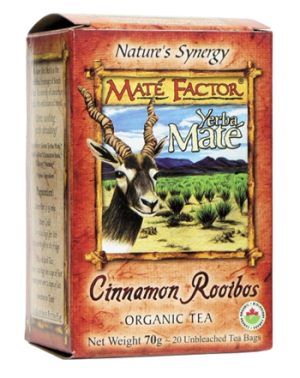 Mate Factor - Cinnamon Rooibos Tea - 20 bags