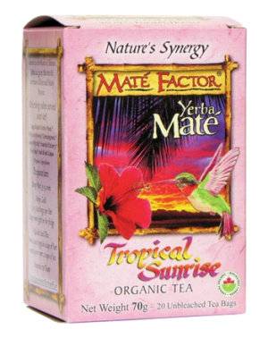 Mate Factor - Tropical Sunrise Tea - 20 bags