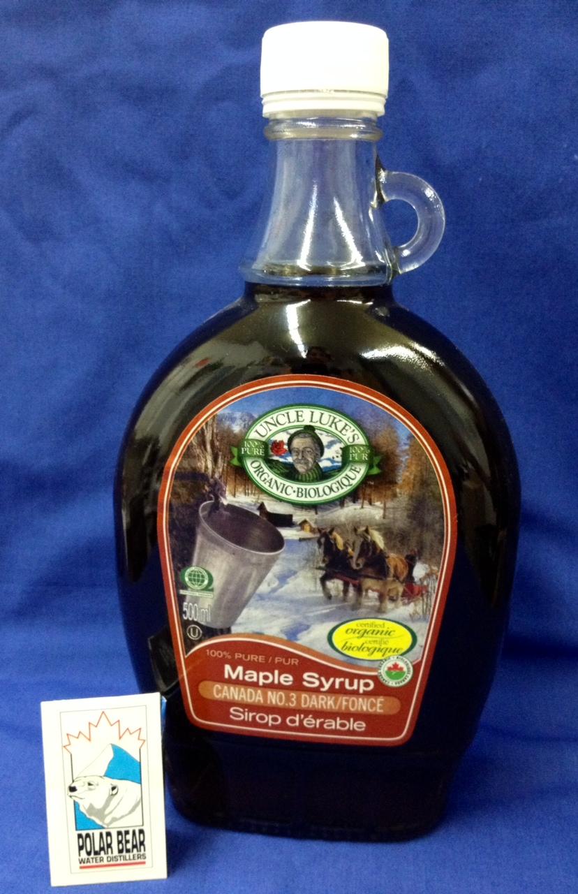 Organic Maple Syrup #3 Dark 500 ml