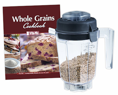 32 oz dry grain container with book