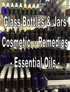 Bottles, Droppers, Sprays, Jars