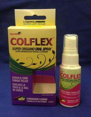 Colflex Oregano Oral Spray Cinnamon-Lemon