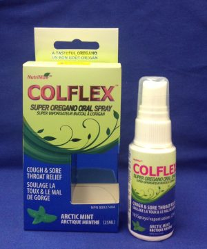 Colflex Oregano Oral Spray Arctic Mint