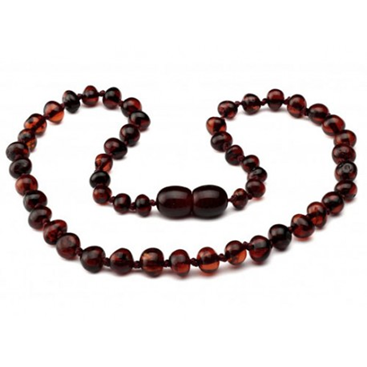 Amber Necklace 11 inch Molasses