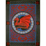 Tapestry - Celtic Dragon