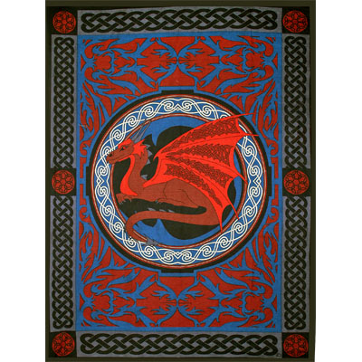 Tapestry - Celtic Dragon