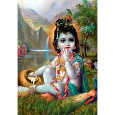 Wall Hanging Baby Krishna