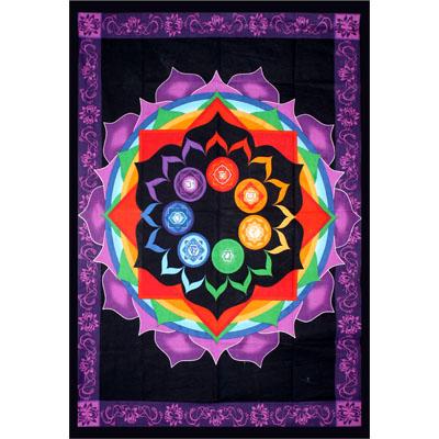 Tapestry Rainbow Chakra 57462