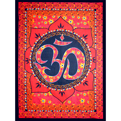 Tapestry - Om Lotus