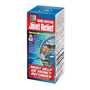 Bell #1 Shark Cartilage for Joint Relief Size: 100 capsules