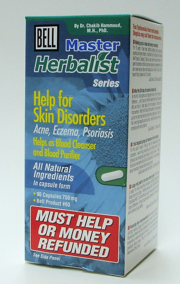 Bell 60 Help for Skin Disorders 90 capsules