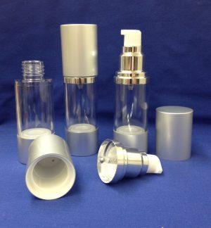 Air Less Pump - 30 ml silver
