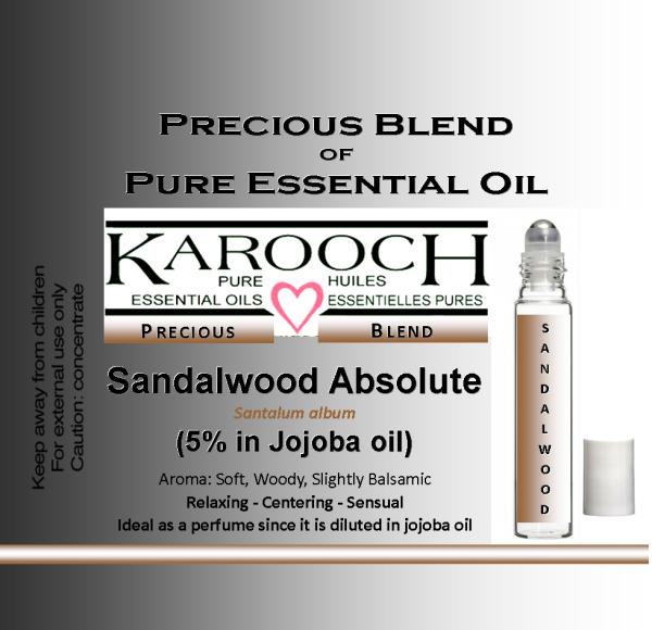 Precious Sandalwood roll on