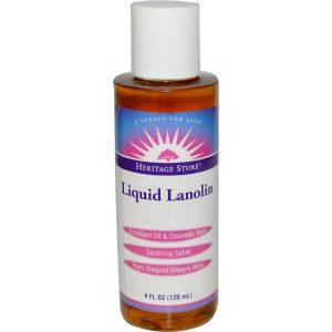 Heritage Store Liquid Lanolin 4 oz