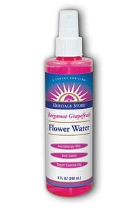 Heritage Store Bergamont Grapefruit Flower Water  8oz