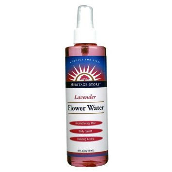 Heritage Store Lavender Flower Water 8oz 240ml