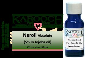 Essential Oil Neroli 5% in Jojoba oil 15 ml