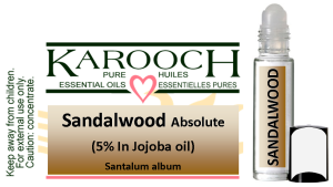 Essential Oil Sandalwood 5% in Jojoba oil 9.5 ml