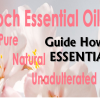 Essential Oil How to Use Guide