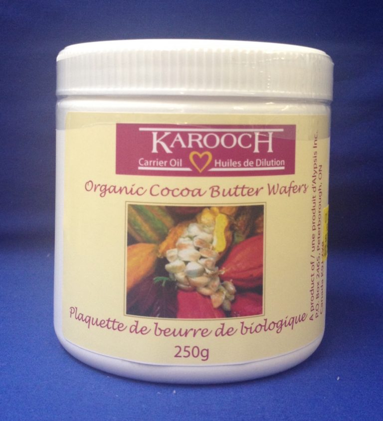 Essential Oil Organic Cocoa Butter Wafers 250 gm
