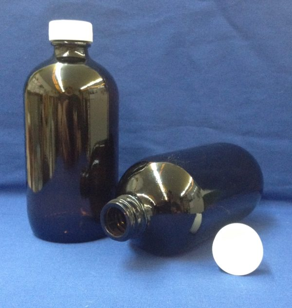 500 ml Amber Glass Bottle with cap