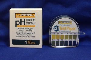 pH Test Strips 1 roll