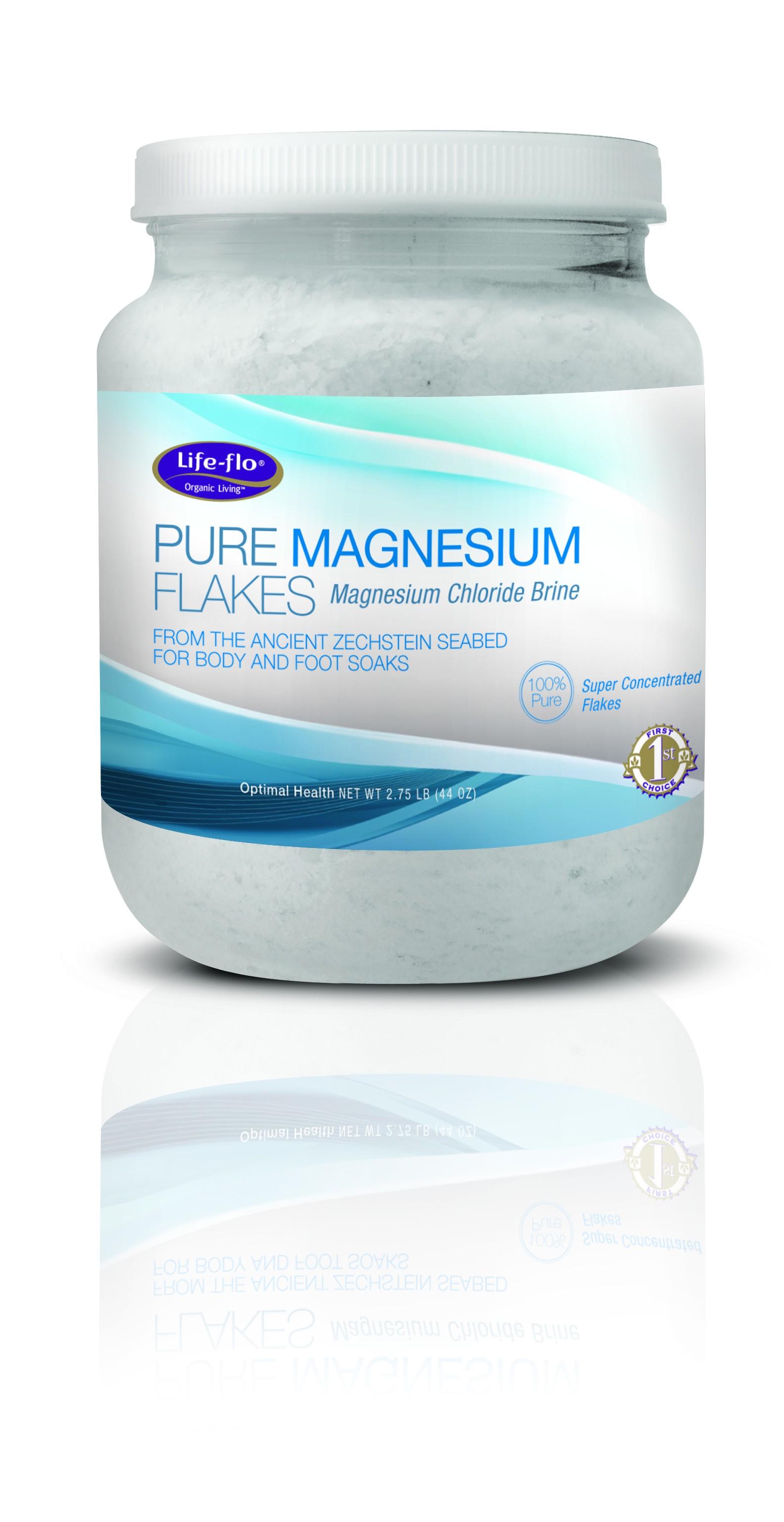 Magnesium Flakes 2 75 lb 1320ml Life-Flo