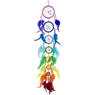 Dreamcatcher 7 Chakras Beaded #30071