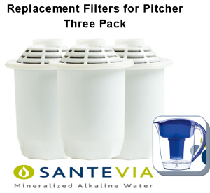 Santevia Pitcher Filter 3 pack