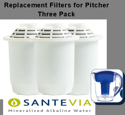 Santevia Pitcher Filter 3 pack