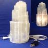 Selenite Lamp Small