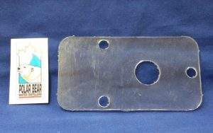 Part Reset Plate Lexan  -  (For Older Switch Round hole) Polar Bear Water Distiller Part # 100119