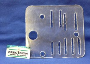 Part Microswitch Plate Lexan Precision