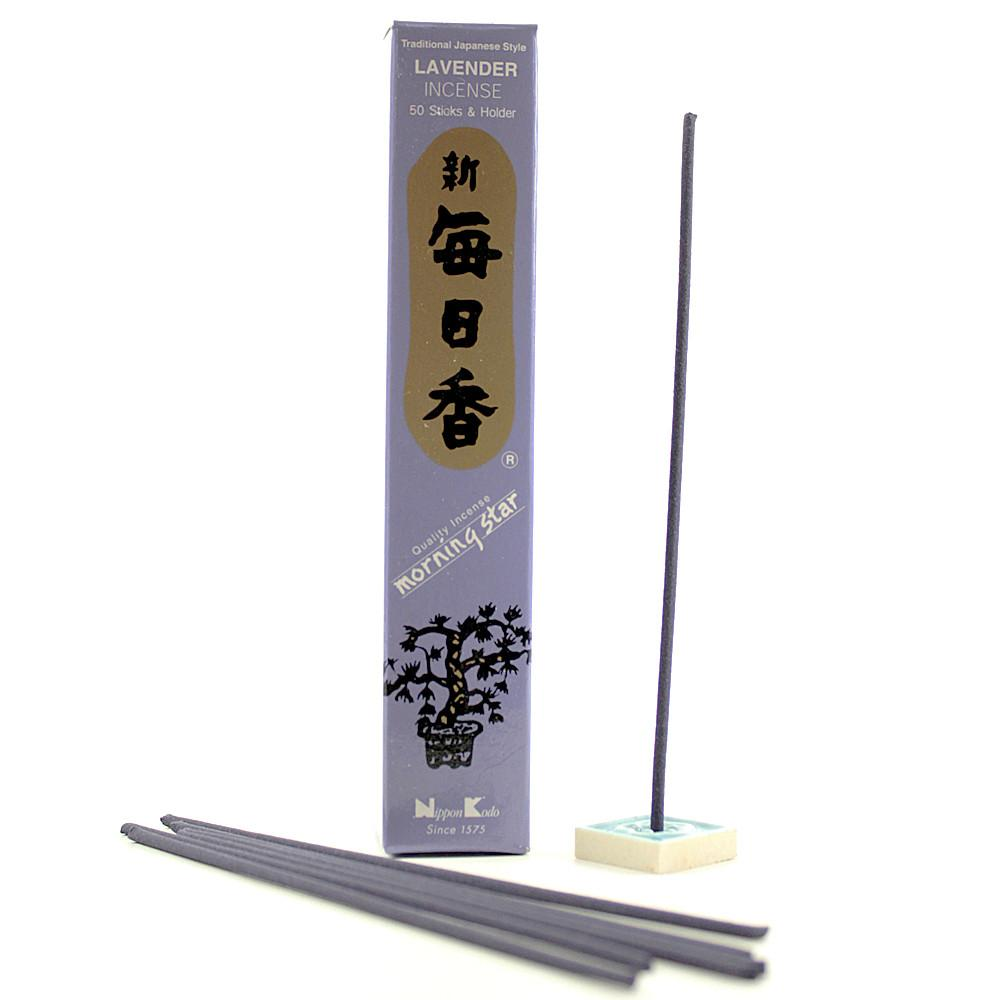 Lavender - Morning Star - 50 Incense sticks